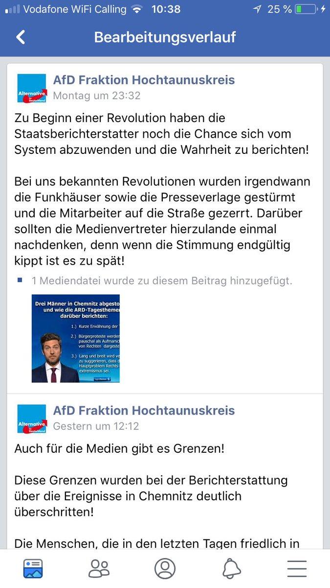 Justus Bender On Twitter Wie Die Afd Im Hochtaunuskreis Von Einem