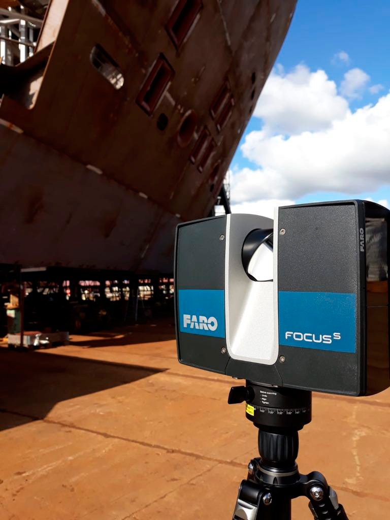 Check out what the experts say on how 3D scanning can improve the eco-efficiency of shipyard processes. #digitalision #ECOPRODIGI #shipping #BalticSeaRegion