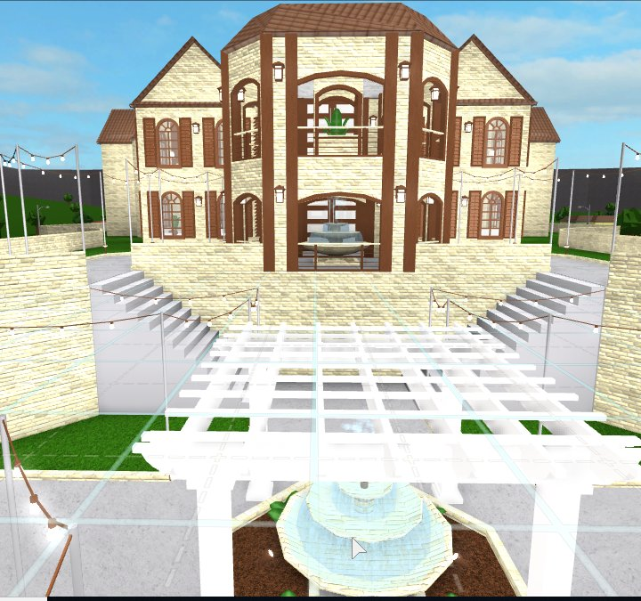 """IAzyrix On Twitter: """"Hi! I Made A Tuscan Family Mansion"""