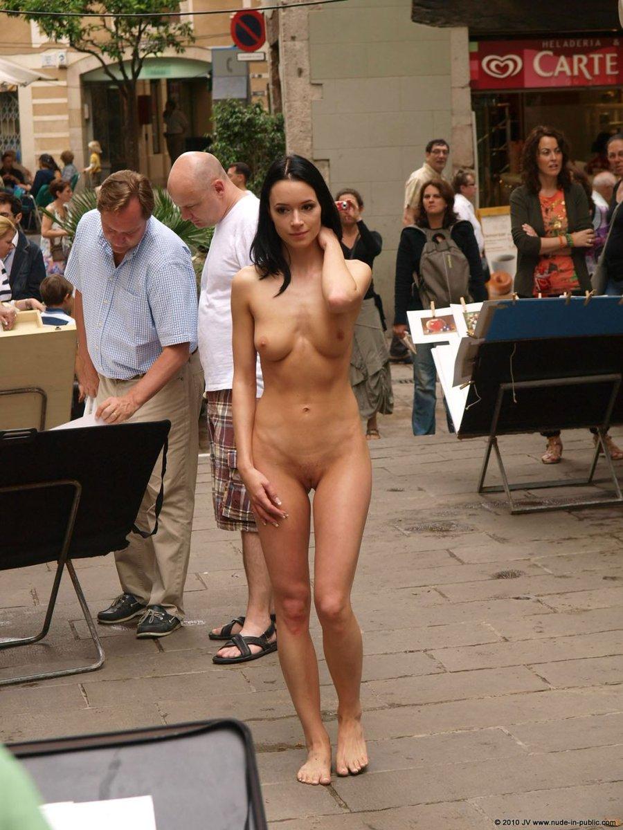 Women naked in public stories