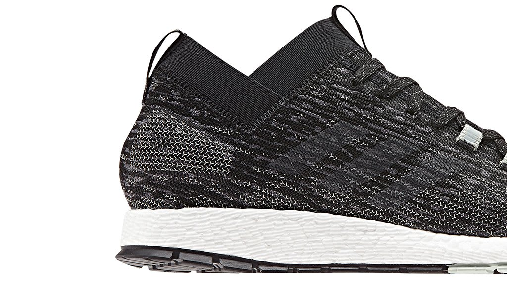 A new running shoe joins the adidas family. Introducing the Pureboost Rebel 58126d617