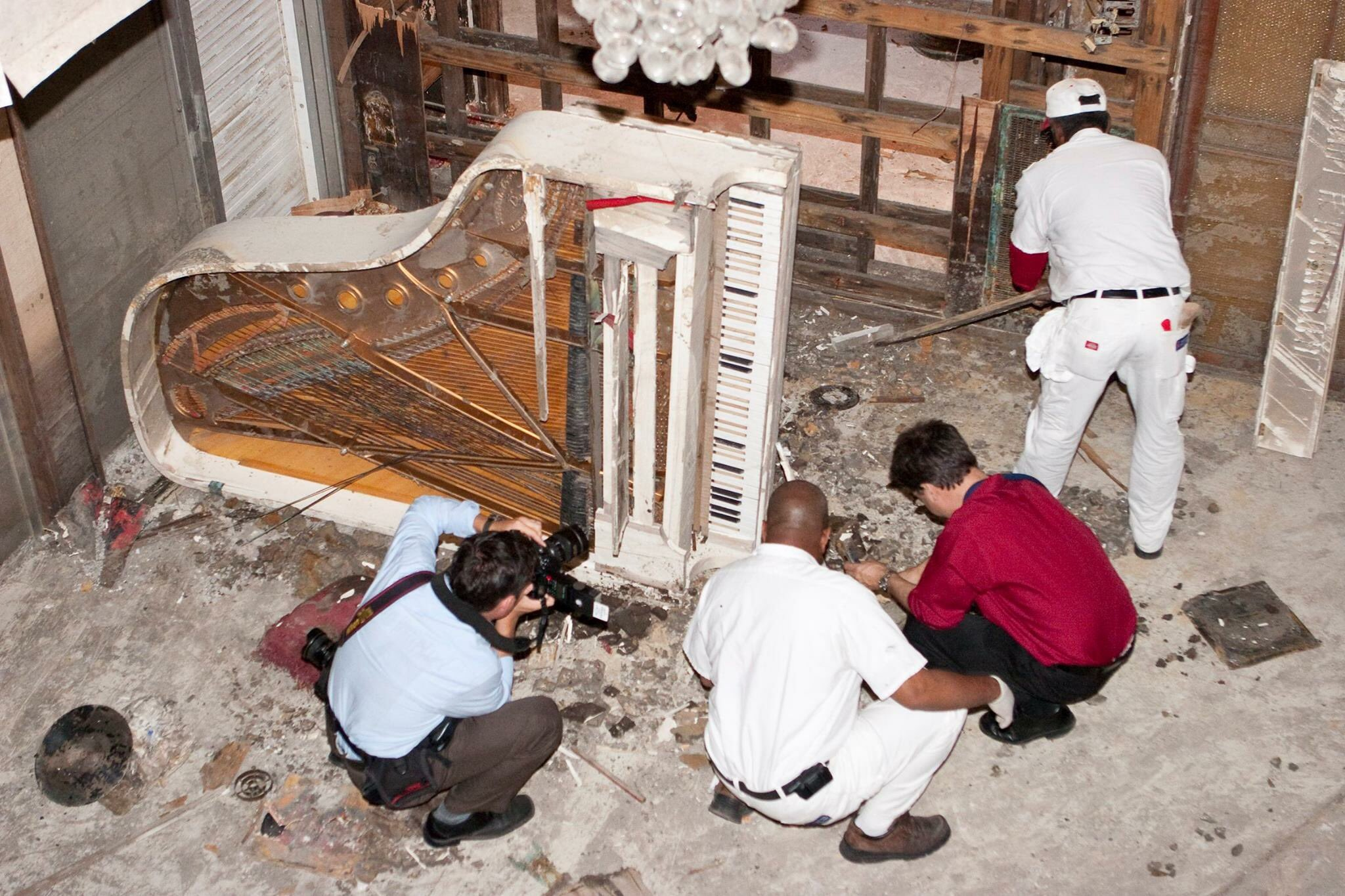 Reloaded twaddle – RT @nolajazzmuseum: After #HurricaneKatrina, museum staff rescued Fats Domino's ...