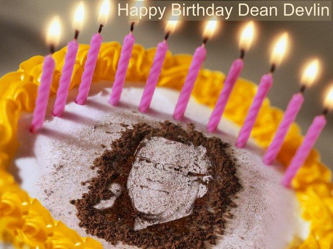 Dean Devlin  Alles Gute zum Geburtstag Wünscht Sylvia Richter =Happy Birthday wishes Sylvia Richter