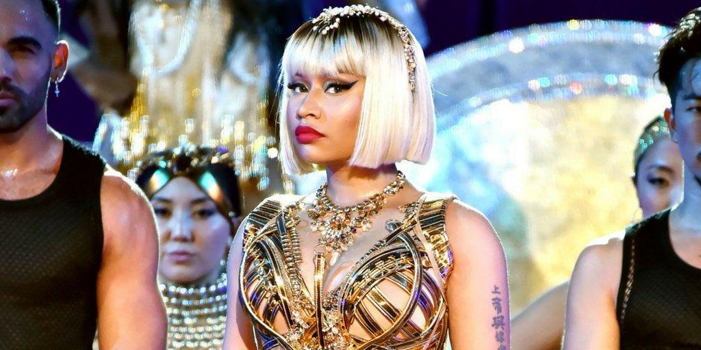 Nicki Minaj  kicks up a storm (and 4.9m YouTube views) with #VMA performance https://t.co/COdIVPp4k1 #spon