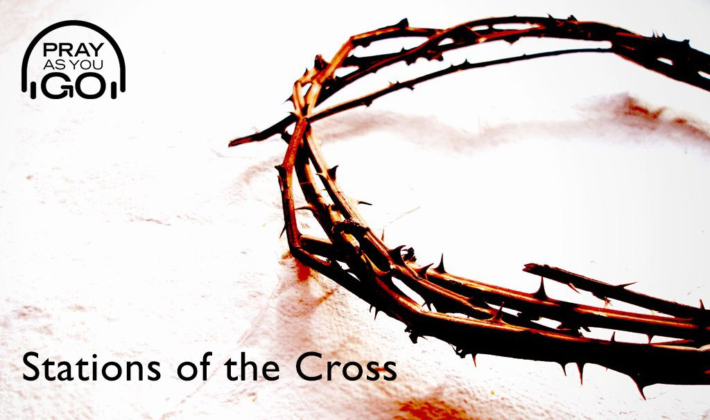 Have you ever tried our Stations of the Cross? This series of meditations on scenes from the Passion of Jesus can be prayed using a painting alongside. Listen now:  #prayasyougo #IgnatianSpirituality #PrayingwithArt #meditation #nowlistening