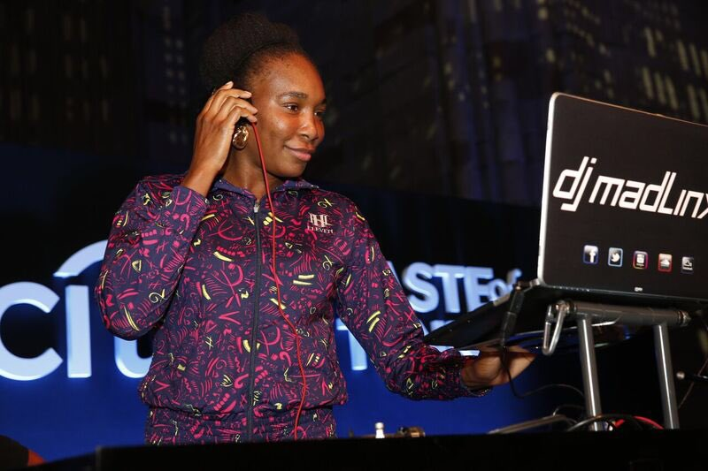 Always a fun night on the turntables at #TasteOfTennis