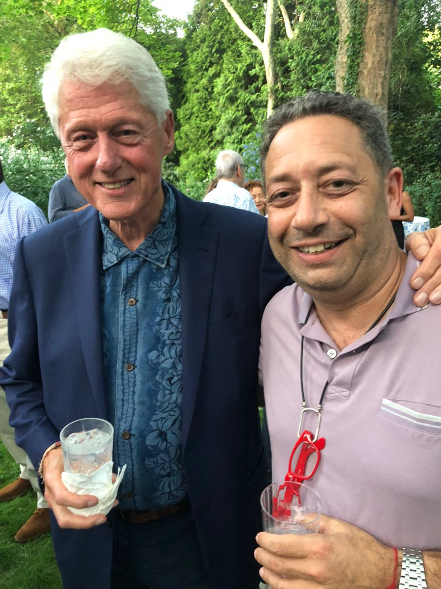 Image result for picture of bill clinton with felix sater