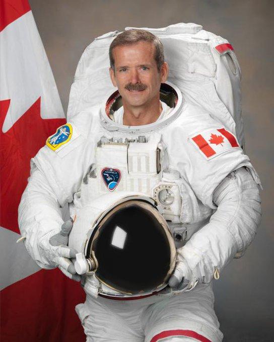 Today s astronaut birthday; Happy Birthday to Chris Hadfield!