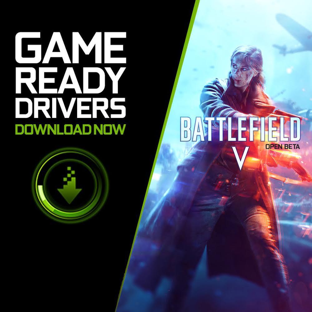 I nostri nuovi driver #GeForce #GameReady per #BattlefieldV e altri 5 giochi sono ora disponibili per il download! 💪 https://t.co/SOZtRwx9vC