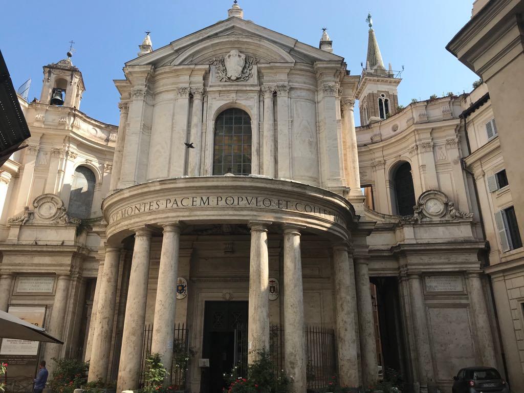 Roma On Twitter Buongiornoroma Chiesa Di Santa Maria Della Pace