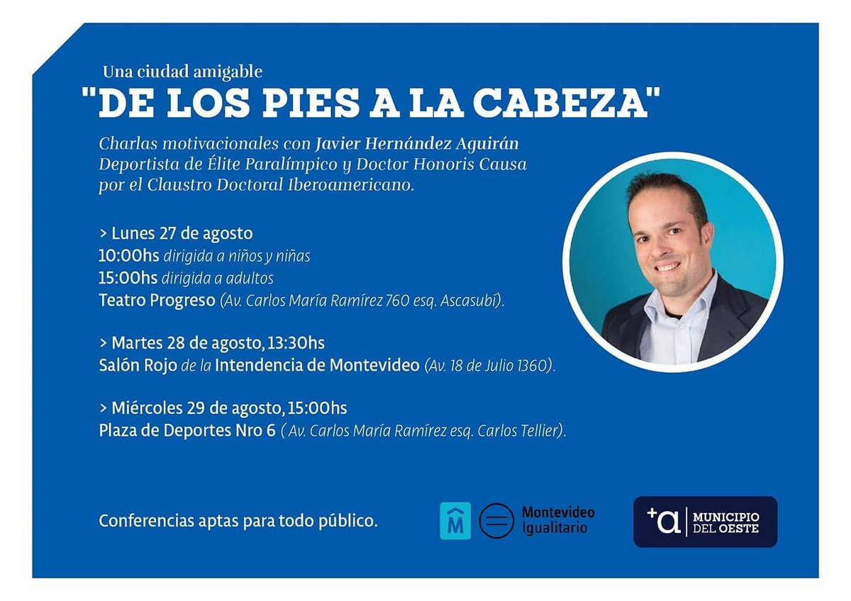 Municipio A Mvd On Twitter Hoy última Charla De Los
