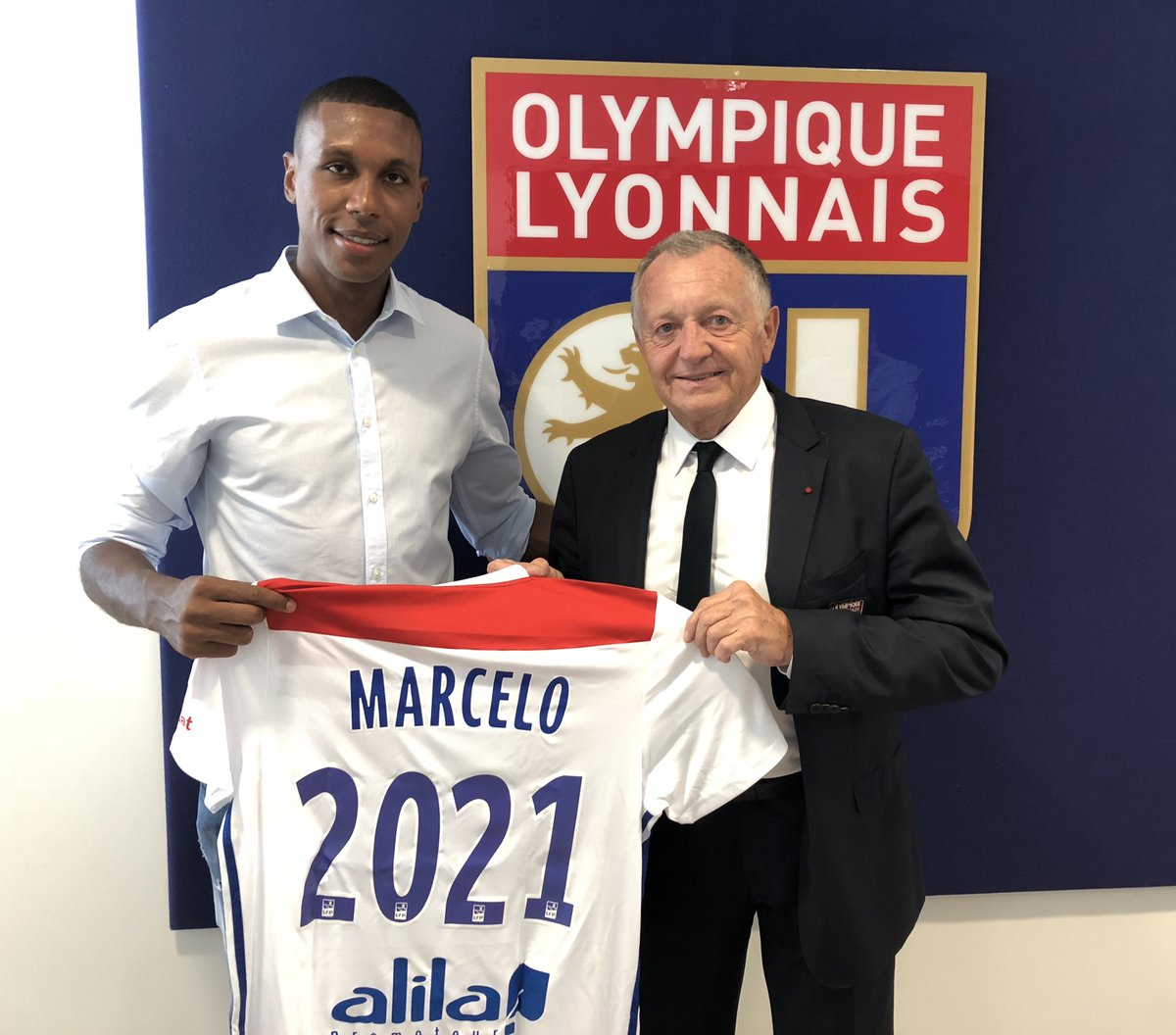 Maillot Domicile Olympique Lyonnais MARCELO