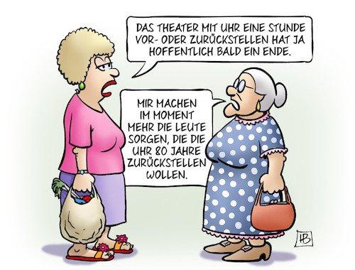 Ernst V All On Twitter Uhrumstellung Cartoon Harm