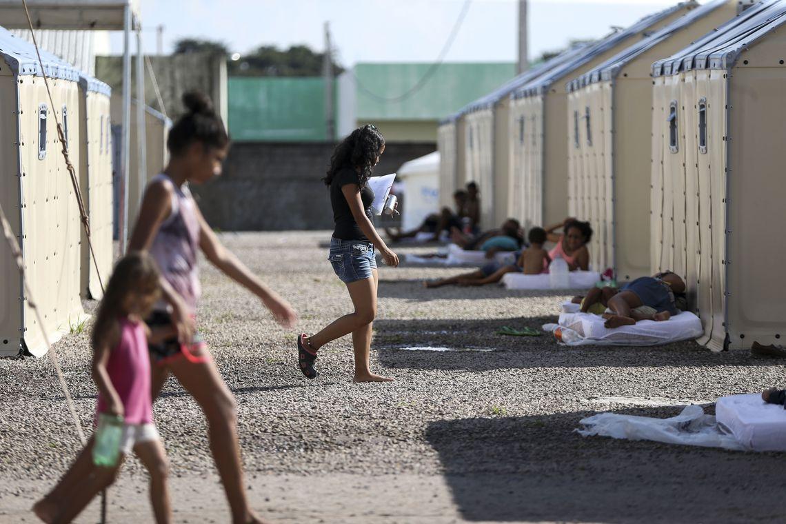 Quatro milhões de crianças refugiadas estão fora da escola, diz Acnur https://t.co/TOkc1I3yL1 📷Marcelo Camargo/Agência Brasil