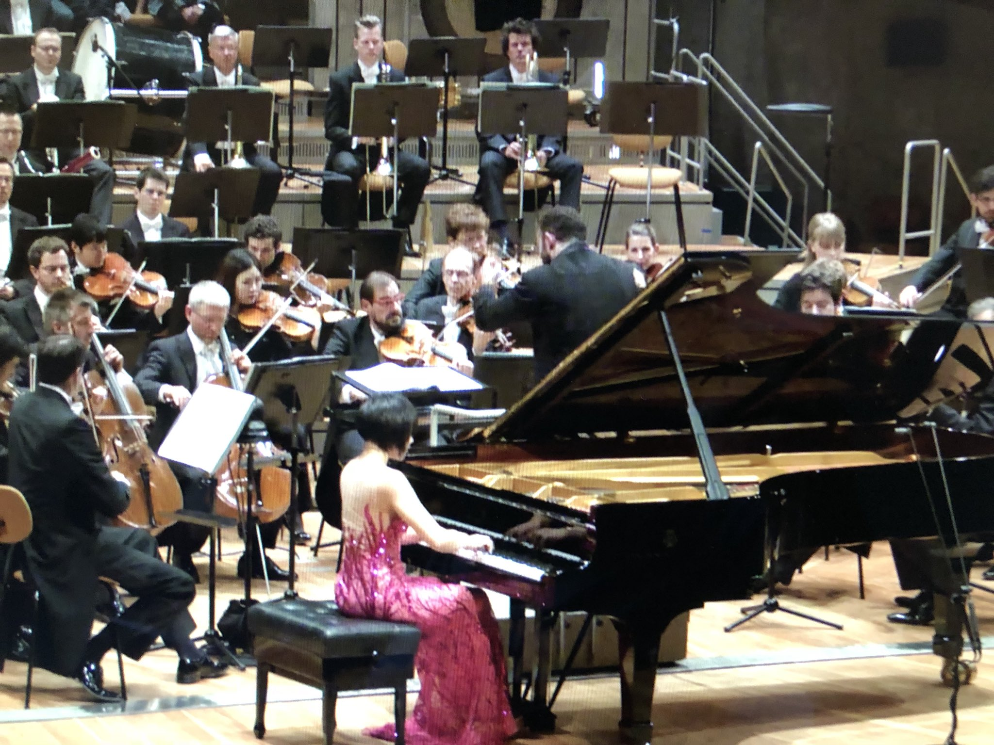 Reloaded twaddle – RT @KalliJari: Treating myself with a smashing Prokofiev 3 with @YujaWang, @Berl...