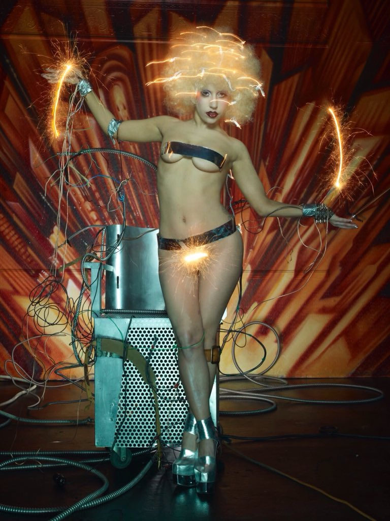 Think, Lady gaga david lachapelle usual