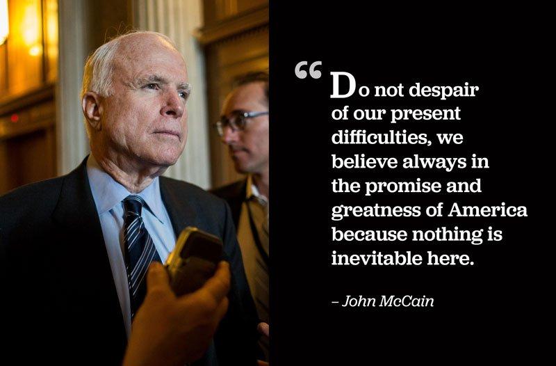 In John McCain's final message to America.  Read his full statement: https://t.co/sFVZxRyh57 https://t.co/TX8gbgLYSj
