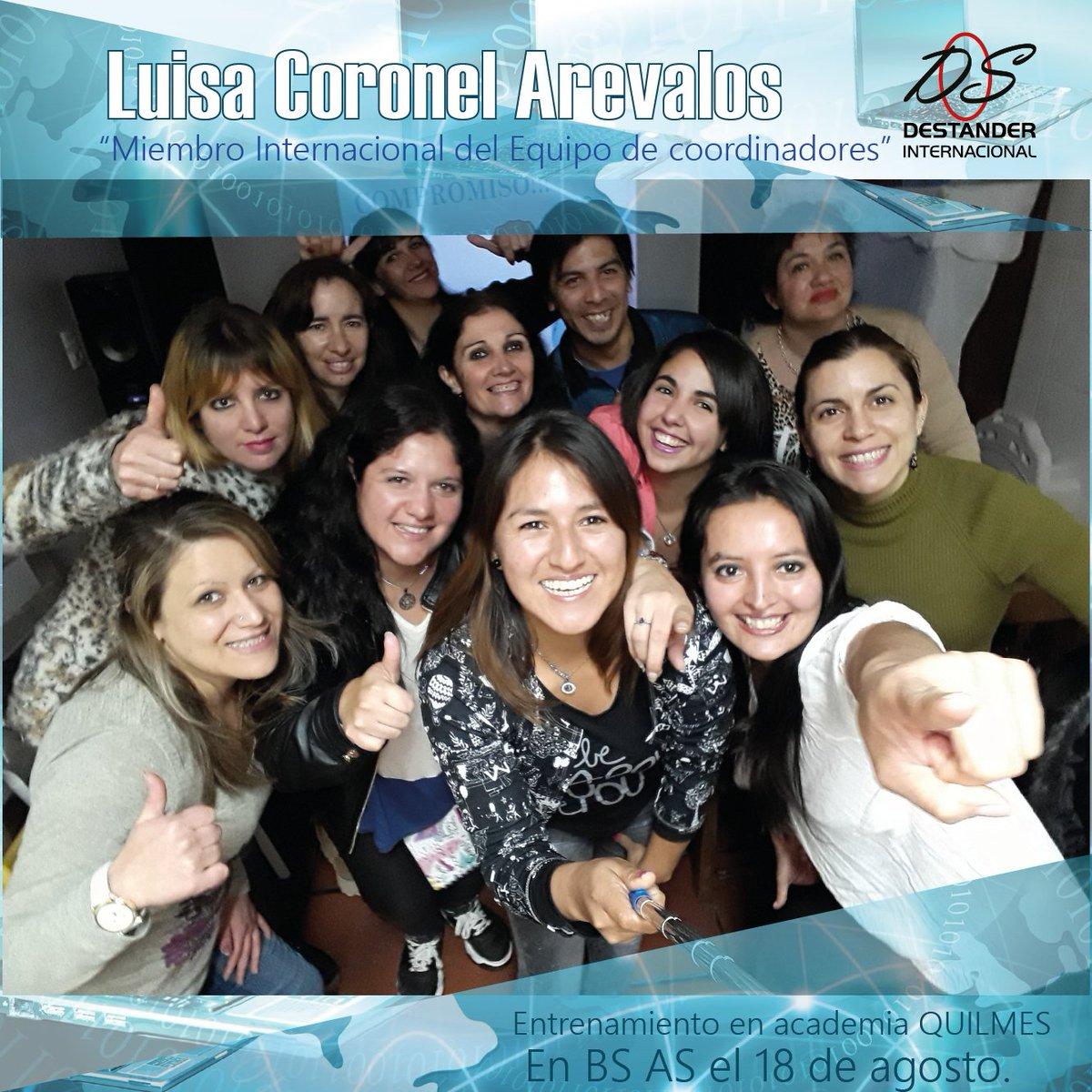 Entrenamiento en Academia Quilmes  Luisa Coronel Arevalos En Bs As el 18 de Agosto. https://t.co/jKH7uZDSQW