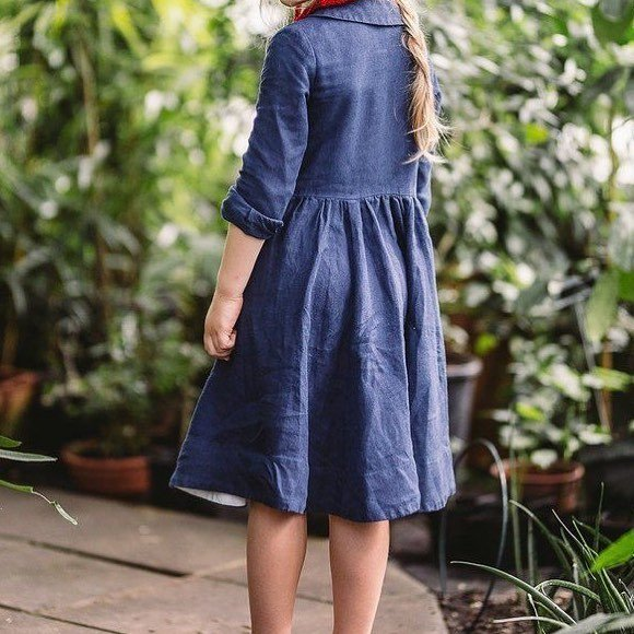 Denim dresses are a must #love #denimdress #denim #kidsdress #kidsdenim #girl #girls #love #nature #beauty #loveit #ootd #todayslook
