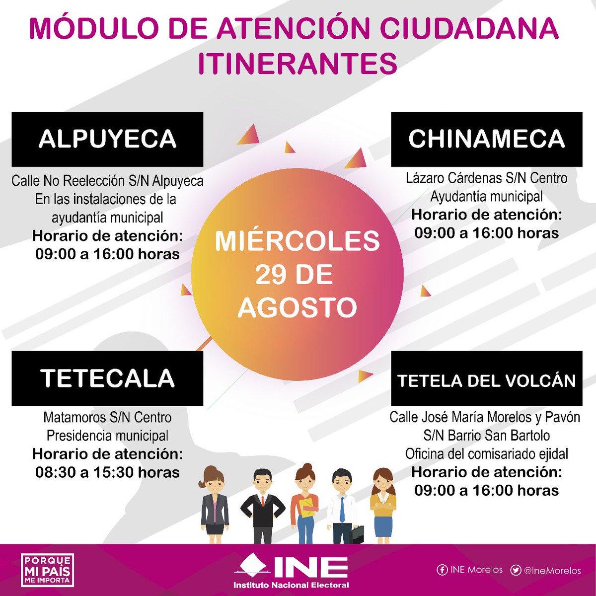 Ine Morelos On Twitter Aún Continúan Los Módulos De