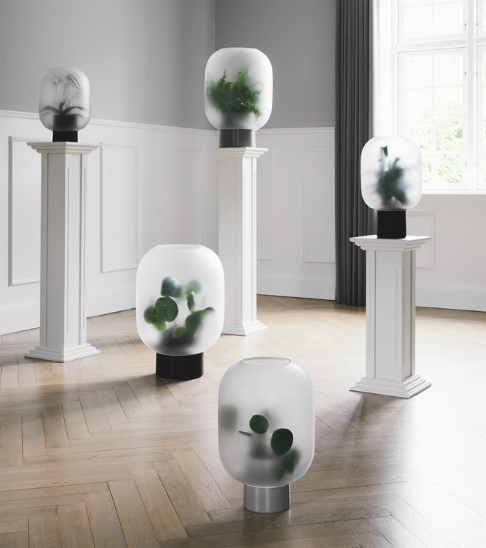 Moco Loco On Twitter Capture The Feeling Of Forest Undergrowth In The Fog With Michaelrem S Nebl Frosted Glass Planters For Gejst Nebel Is The German Word For Fog Design Glass Planter Https T Co Lxymmj795q