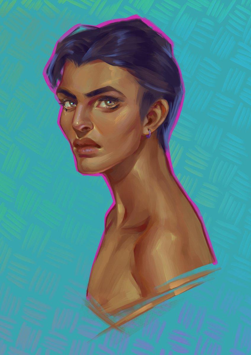 @LemoncielArt @Luis_pastor Hola! Me llamo Eli y soy ilustradora, casi siempre dibujando fantasía ^-^
