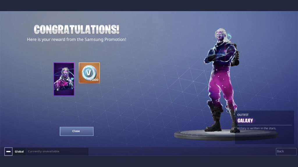 Raptoor On Twitter Rt Galaxy Skin Metod 15k V Bucks Fortnite