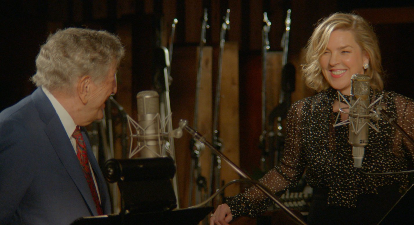 Reloaded twaddle – RT @itstonybennett: What a joy it was working with @DianaKrall on #LoveIsHereToS...