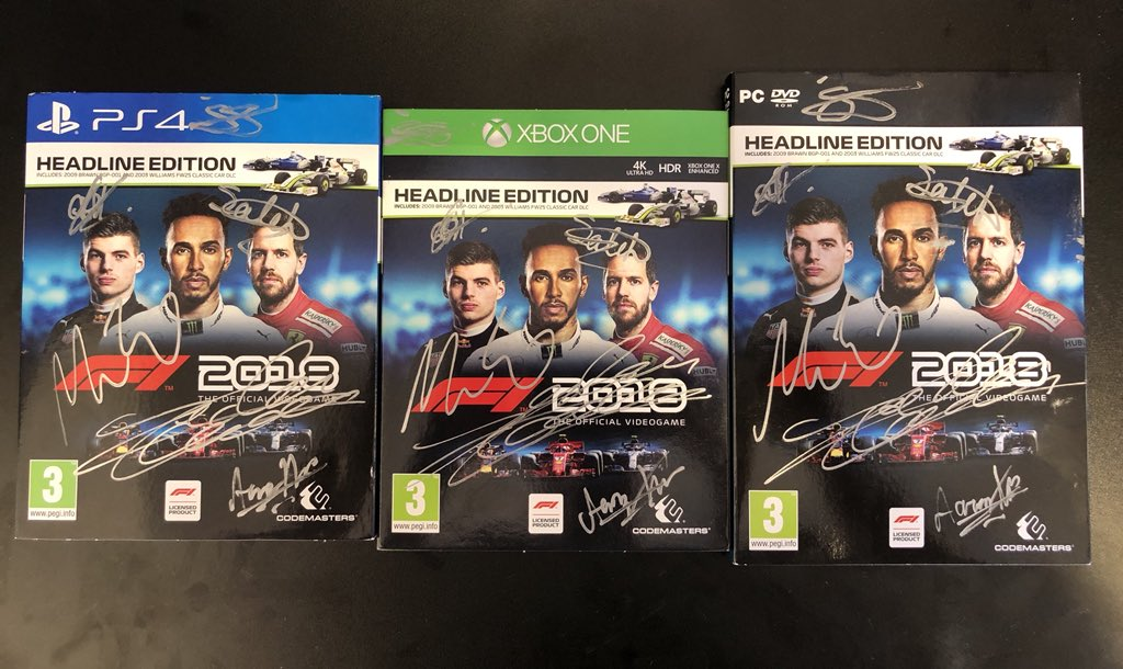 We will be giving away a signed copy of the new @Formula1game signed by @Charles_Leclerc @Ericsson_Marcus @VeS_FlyingFinn @RG_Matiiz @Veloce_Alonso and @_aarava! All you must do is RT and follow @SauberEsports @SauberF1Team https://t.co/DLdErvYdFy