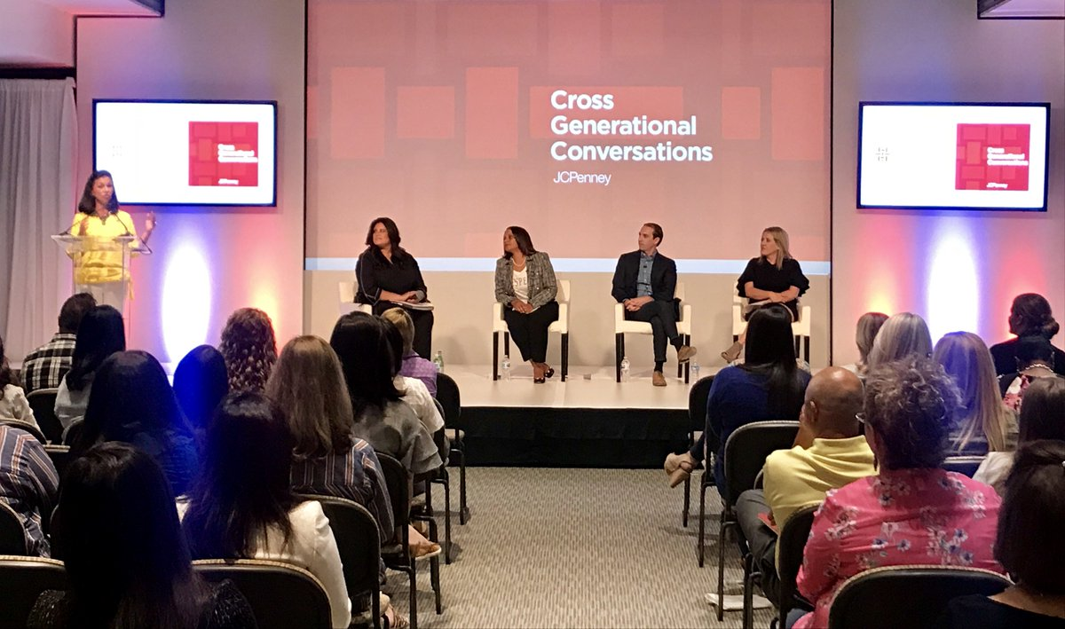 Superieur JCPenney Leaders At The Home Office In Plano Gathered To Converse About  Cross Generational Differences. Panelists In Product Development, Corporate  Strategy ...
