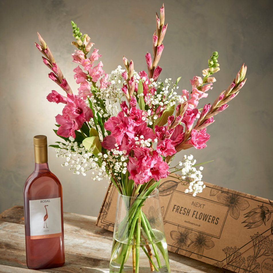 Garon wines on twitter were proud to announce that our new pink fruity ros is now available to purchase from nextofficial flowers alongside a beautiful arrangement of flowers purchase now using the link below izmirmasajfo