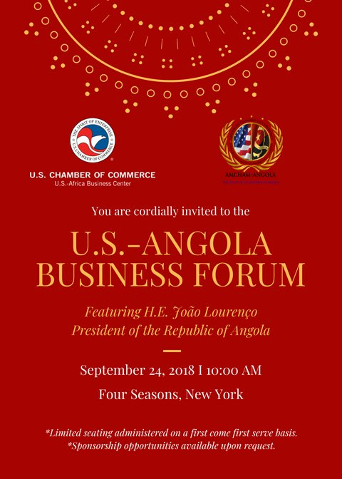 test Twitter Media - Join us for the first U.S.-Angola Business Forum in New York City. We are excited to host President João Lourenço. RSVP: https://t.co/N51CBfiajj #Angola #Africa #Business https://t.co/FB3S38pJNN