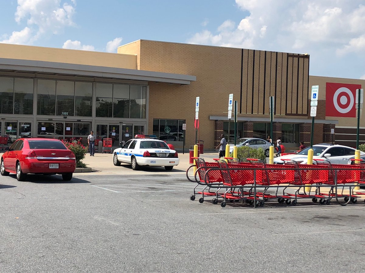 Man stabs another man, takes woman hostage at Forestville MD Target