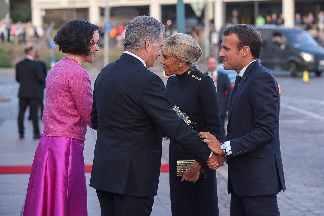 Macron Suomeen