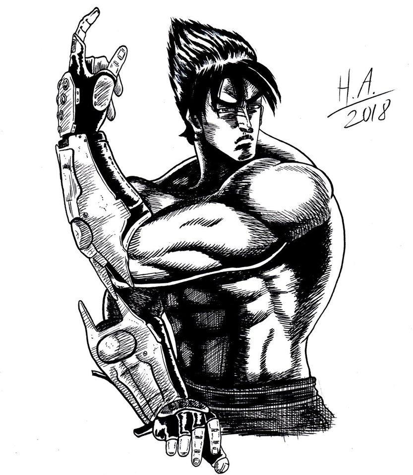 ʜᴀʀᴀᴋɪʀɪ On Twitter Jin Kazama From Tekken I Know I Forgot