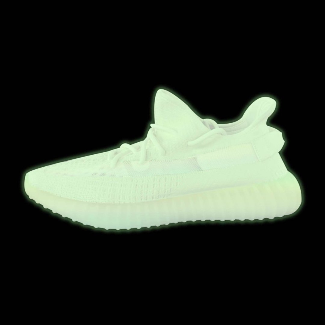 4a37de437 kanyewest teases new Yeezy Boost 350 V2 colorway renderings with  glow-in-the-dark uppers and soles. Would you grab a pair of fully  glow-in-the-dark 350 ...