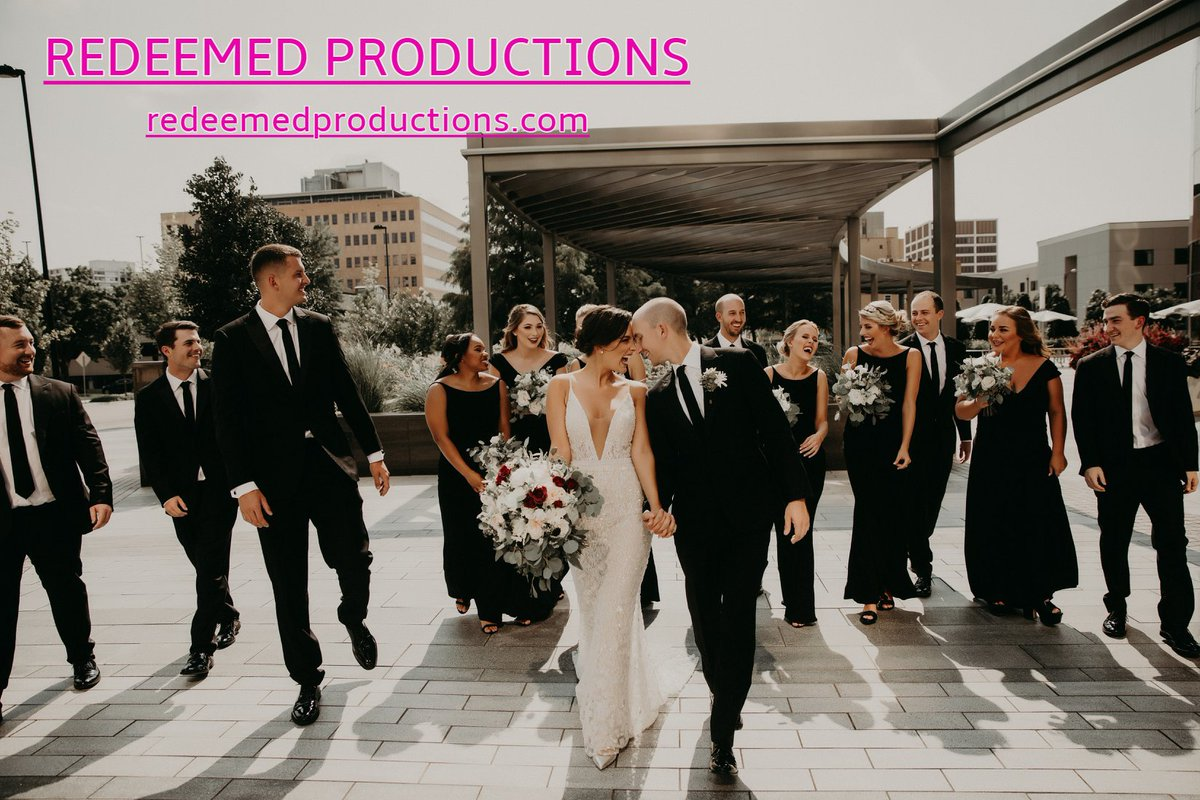 bdaecadd3d35 Brides are raving about wedding vids   pics by  RedeemedProd See the work    reviews on social media or on their website!