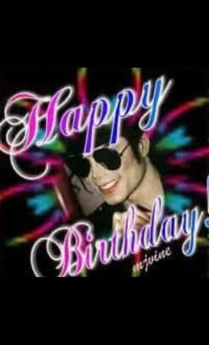 Happy 60th Birthday Michael Jackson. We miss you.