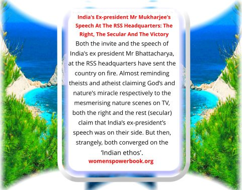 #SanghiTerrorists #Sanghis RSS is the largest #NGO in the #world. It is vilified as an #evil #organization but then it invites people with opposing views to #learn. But the #freespeech centre #JNU frowns upon any #rightist views.