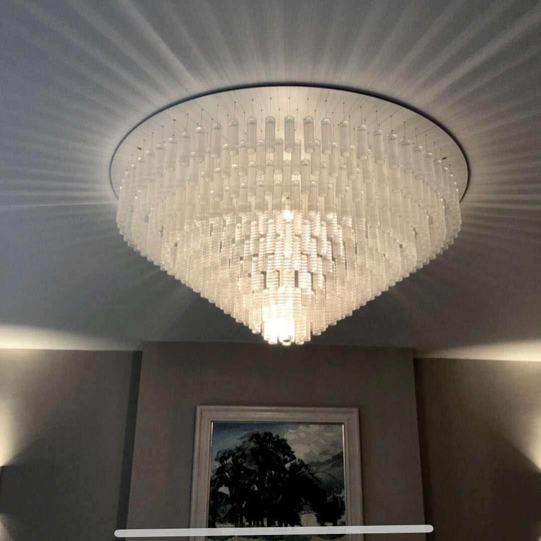 george singer on twitter new deco ceiling chandelier for cambridge