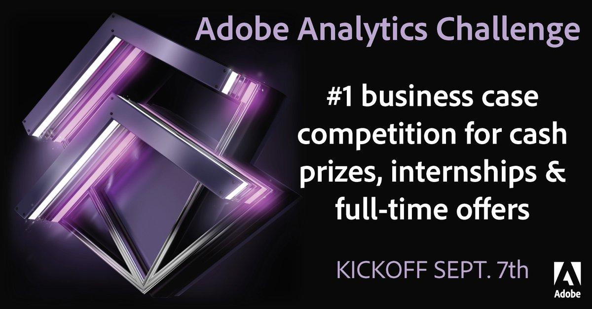 Adobe Analytics Challenge Kickoff 2018