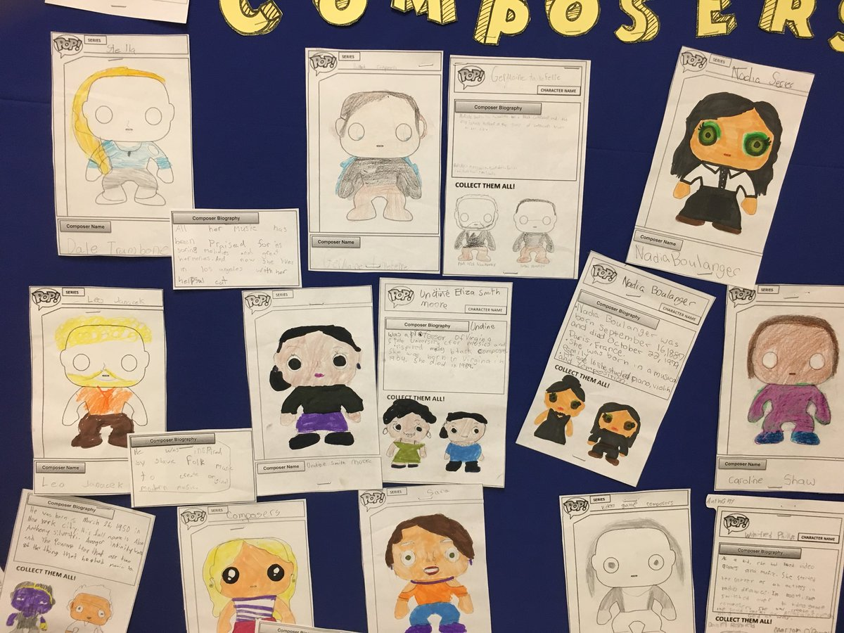 Miriam Capellan On Twitter Funko Pop Composer Bulletin Board Created With The Fantastic Composerproject Database Great Work Rising 5th Graders Hearallcomposers Mused Https T Co 3blcvwk2me