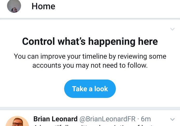 Twitter is now suggesting accounts to UNFOLLOW!   h/t @medavep who got told to unfollow me!