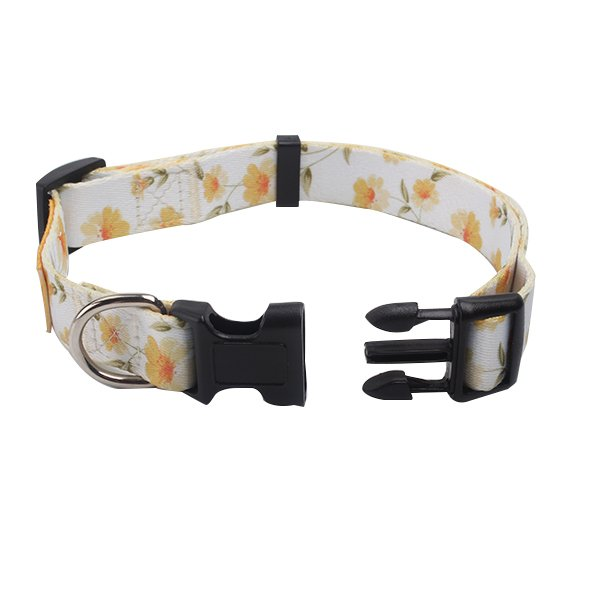 163af4700dd3 Sunflower dog collar and dog leash http://www.qqpets.com #special  #polyester #dogleash #dogcollar #doglovers #wholesale #supplier #custom  #beautiful ...
