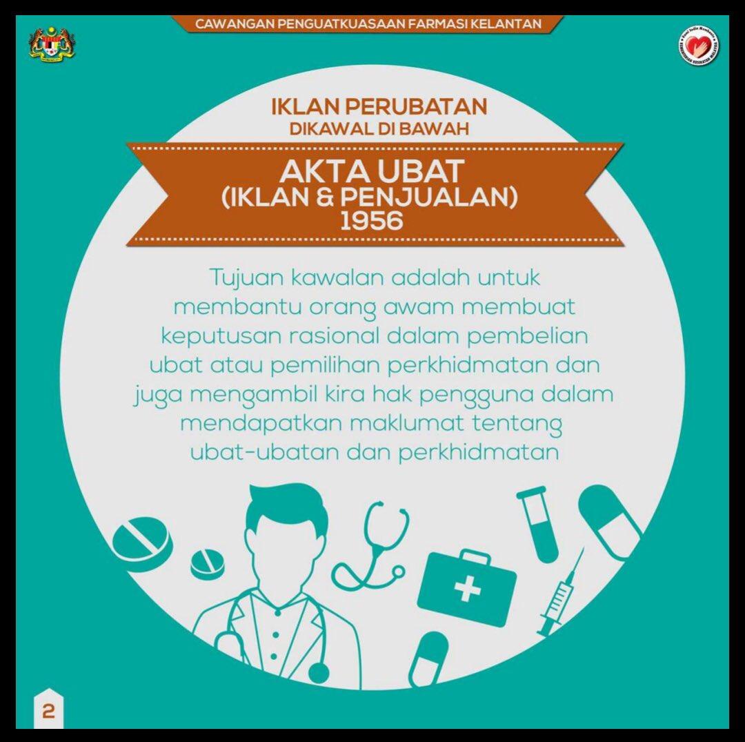 Dr Amalina On Twitter Please Follow Akta Iklan Dan Ubat 1956