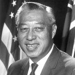 Image for the Tweet beginning: #OTD in 1959, Hiram Fong