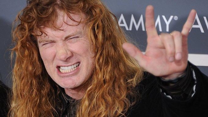 Happy 57th birthday Dave Mustaine!