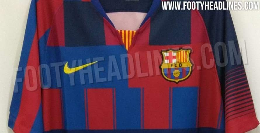 timeless design 76ad4 b66c3 Footy Headlines: Nike set to release a Barcelona mashup ...
