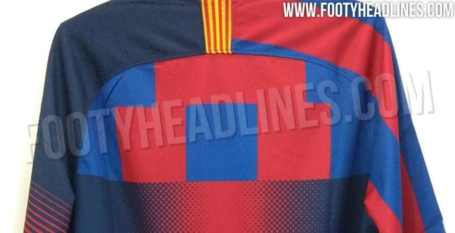 20ed743dc2c 📸 Leaked images show Nike's very special Barcelona anniversary shirt -  Onefootball