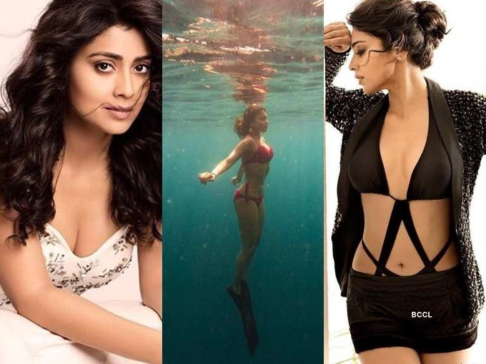 Hot pictures of birthday girl Shriya Saran